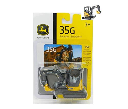 2018 1:50 J0HHN DEEREE Model 35G Mini Excavator Diecast NIP Rare Collect Diecast Vehicle Toy ()