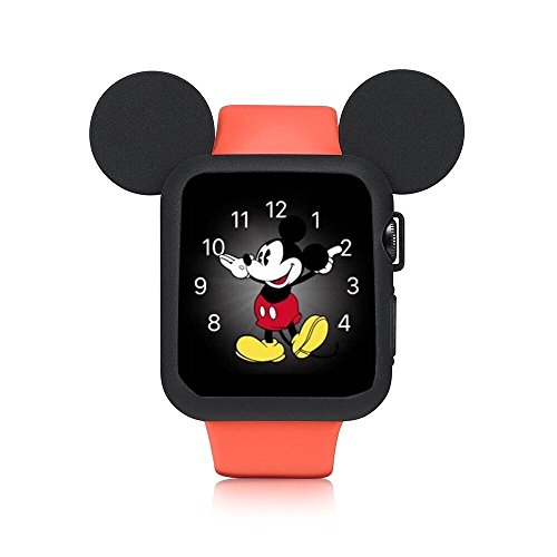 Apple Watch Case Cover Disney characters Mickey Mouse ears / 42mm / Black