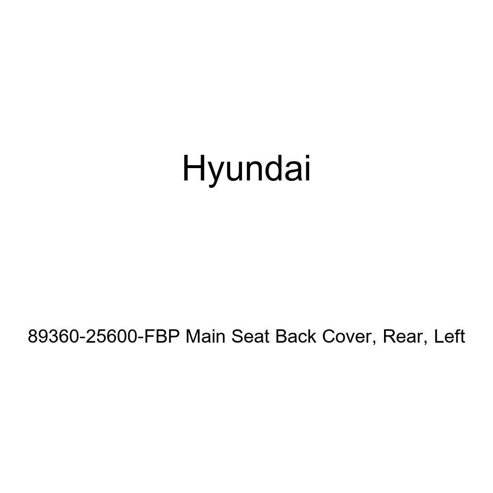 Rear Left Genuine Hyundai 89360-25600-FBP Main Seat Back Cover