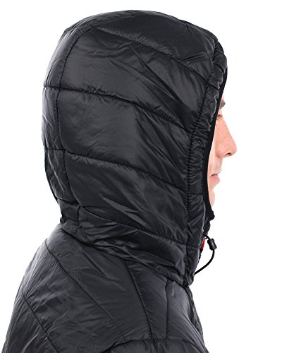 Jacket Down Outlet Series Black Long Curl Puffer Anti Rip Mens Melt qqf8P
