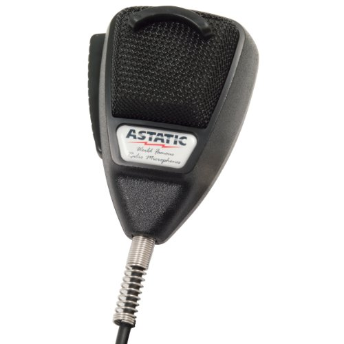 [해외]ASTATIC 302-10001 4-Pin Noise-Cancelling Microphone (Black) / ASTATIC 302-10001 4-Pin Noise-Cancelling Microphone (Black)
