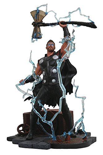 Diamond Select Toys Marvel Gallery: Avengers Infinity War Movie Thor Pvc Diorama Figure