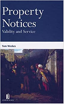 Book Property Notices: Validity and Service
