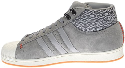 adidas Herren Pro Model BT Originals Basketballschuh Grau