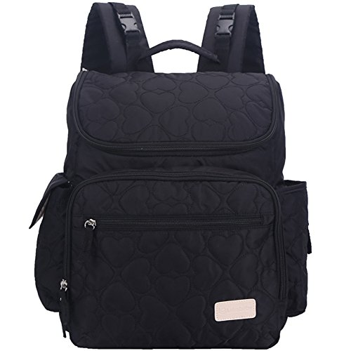 Leke Diaper Backpack Insulated Black product image