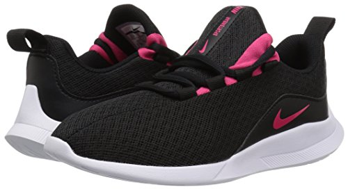 Nike Girls' Viale (GS) Running Shoe,  Black/Rush Pink-White, 3.5Y Youth US Big Kid by Nike (Image #5)