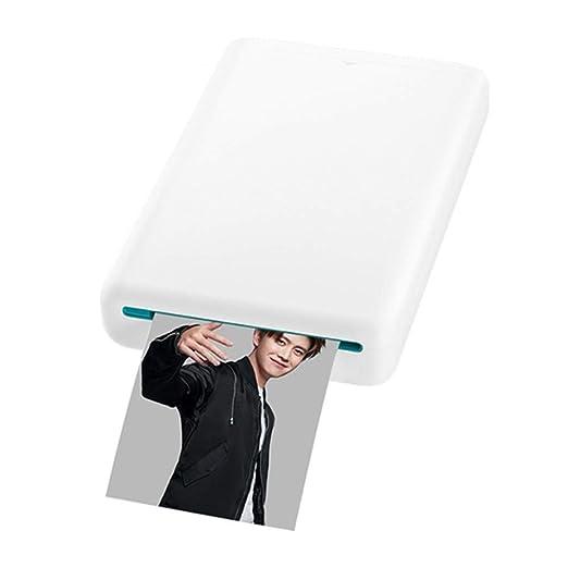 ZP-Printer Mini Impresora Fotográfica AR Impresora Zink ...