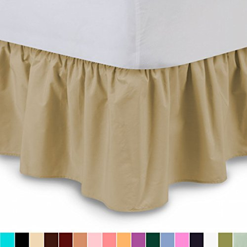 ruffled bedskirt bed skirt