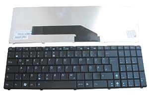 Negro Nuevo GR/DE alemán Tastatur de teclado para Asus K50 K51 K60 K61 K62 K70 F52 F90 P50 X5D X51 Series