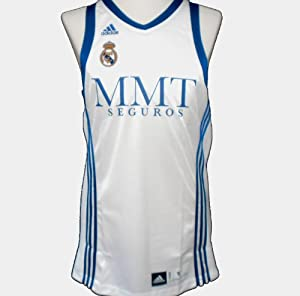 online store 15513 6684c Real Madrid Basketball Jersey 2011 (Small): Amazon.co.uk ...