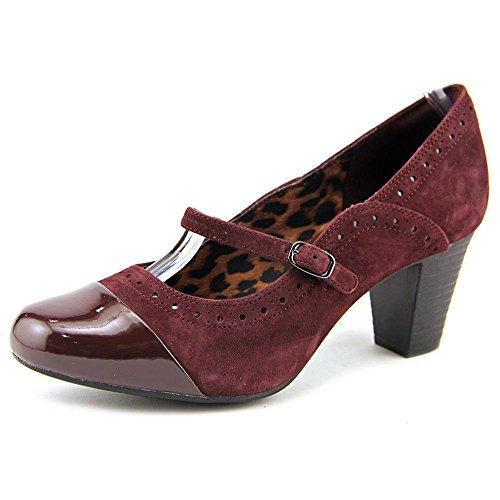 Clarks 67262 Womens Zaffiro Vaso Mary Jane Pumps Bordeaux