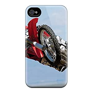 High Quality Shock Absorbing Case For Iphone 4/4s-motocross by lolosakes