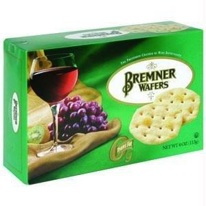 Bremner B73113 Bremner Wafers, Original Plain -12x4oz by Bremner