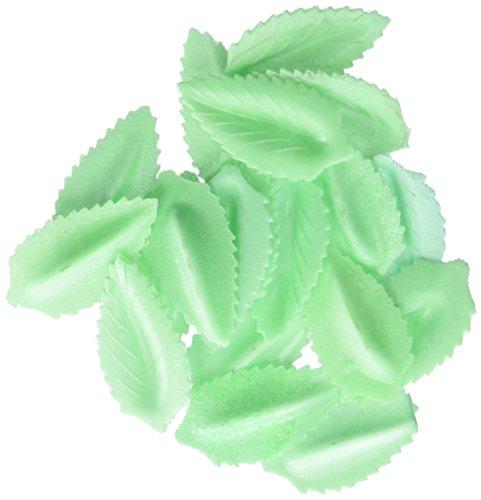 Cakesupplyshop Item#6781-50pack Edible Cake Decoration Wafer Paper Green Leaves