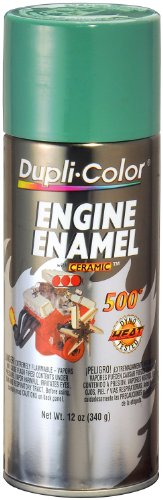 Dupli-Color DE1618-6 PK (EDE161807-6 PK) Detroit Diesel Alpine Green Engine Enamel with Ceramic - 12 oz. Aerosol, (Case of 6)