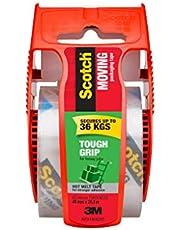 Scotch 150-AU Scotch Tough Grip Moving Packaging Tape, 48mm x 20.3m, 150 Packaging Tape