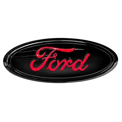 Reese Towpower 86532 Black Finish Ford Lighted Hitch Cover: Automotive