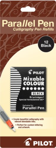 pilot-parallel-pen-ink-refills-for-calligraphy-pens-black-12-cartridges-per-pack-77313