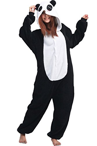Lifeye Unisex Red Eye Panda Pajamas Adult Animal Cosplay Costume -