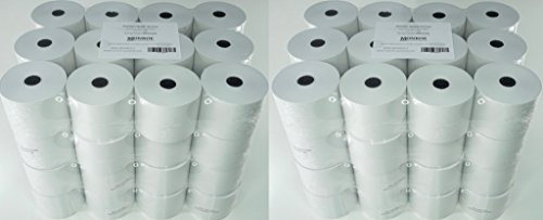 (96) Top of The Line Monroe Systems for Business Single-Ply Bond Paper Rolls, -