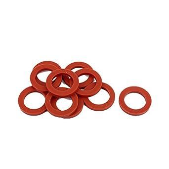 eDealMax 10pcs 24 x 16 mm x 3 mm O Ring-Manguera Empaque Arandela de