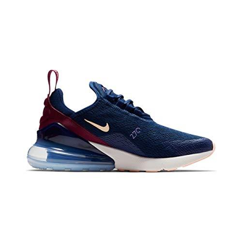 Nike Air Max 270 Women's Shoes Blue Void/Crimson Tint/True Berry ah6789-402 (6.5 B(M) US)