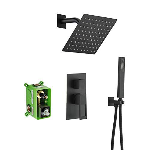 Black Shower Faucet,Matte Black shower fixtures,Sumerain