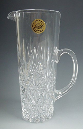 Cris Darques Crystal - Cris D'Arques/Durand Crystal CHANTILLY-TAILLE-BEAUGENCY Pint Pitcher EXCELLENT