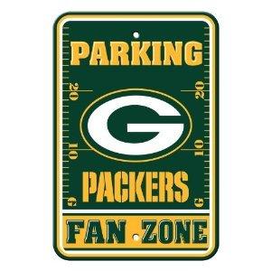 Green Bay Packers Fan Parking Sign