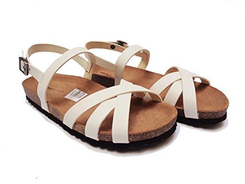 FRAU - Sandalias de vestir de Piel para mujer marrón Burro 37 Puma Zapatillas Suede Bow Wn'S cOWSFDy