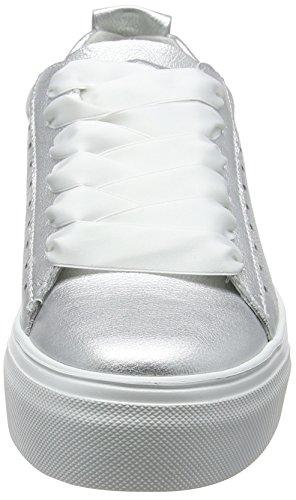 Kennel und Schmenger Schuhmanufaktur Big, Sneaker Donna Silber (Light Silver Sohle Weiß)