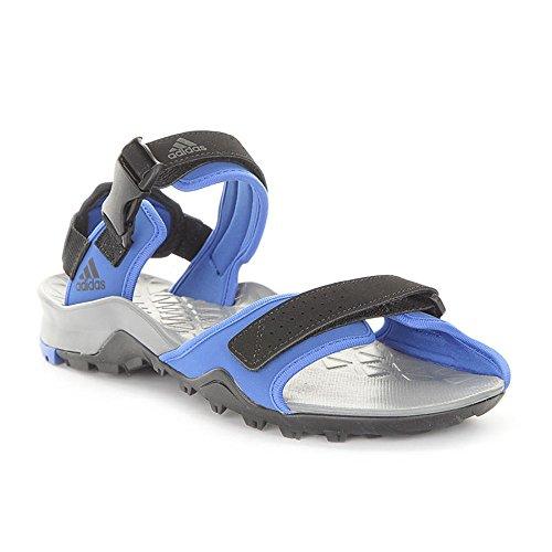Adidas Mens Cyprex Ultra Sandal Ii, Blu / Nero / Visgre Nero-blu