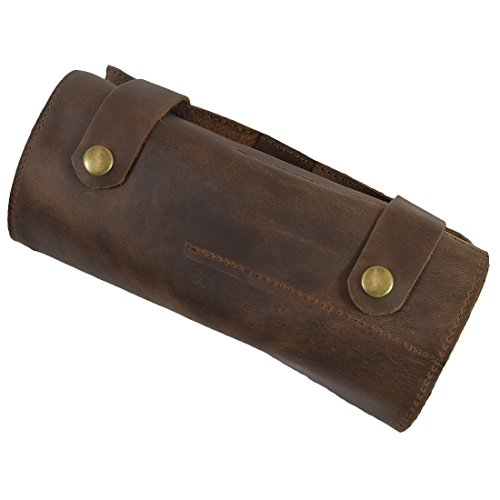 Rustic Motors 3d Custom Made Jewelry Home: Snap Tool Roll/Barber Handmade By Bourbon Brown