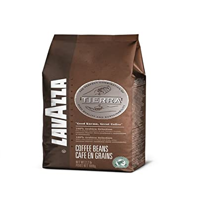 Lavazza Tierra Intenso - Whole Bean Espresso, 2.2-Pounds