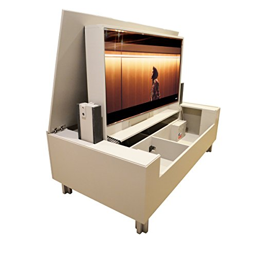 (Pop Up TV Lift - Handcrafted Albany TV Lift Cabinet - ATL Low Profile System (60