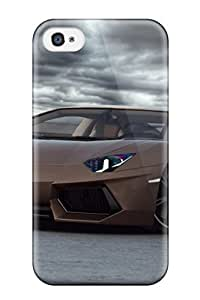 Awesome Aventador Flip Case With Fashion Design For Iphone 4/4s