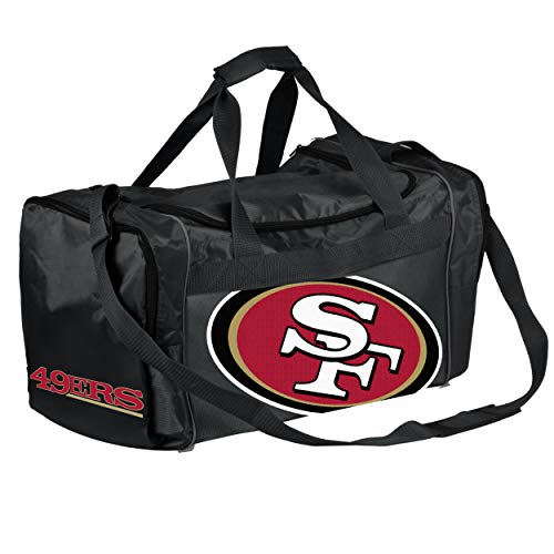 FOCO NFL Core Duffel Gym Bag - San Francisco 49ers
