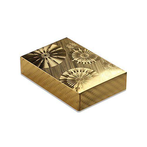 XY ZONE 24K Waterproof Gold Foil Plated Pocker Playing Card Joker Gift Table Game