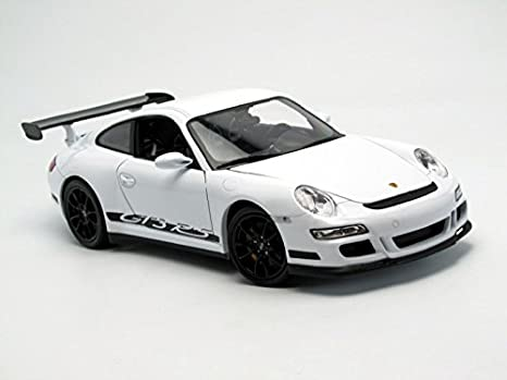 Welly Porsche Rs 911/997 Gt3, escala 1/18, color blanco (18015): Amazon.es: Juguetes y juegos
