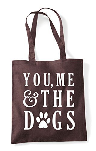 Me Tote And Statement The Dogs You Shopper Brown Bag daXgzxFq