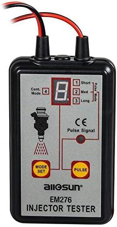 Hadeyicar All Sun Em276 Professioneller Injektor Tester Injector 4 Kraftbetriebenes Kraftstoffsystem Em276 Sport Freizeit