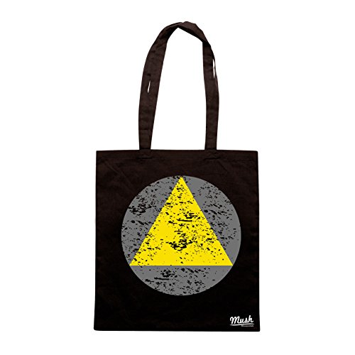 Borsa LEGION TRIANGOLO - Nera - FILM by Mush Dress Your Style