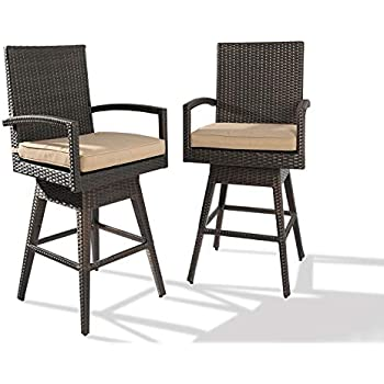 Amazon Com Ulax Furniture 2pack Outdoor Patio Furniture All Weather