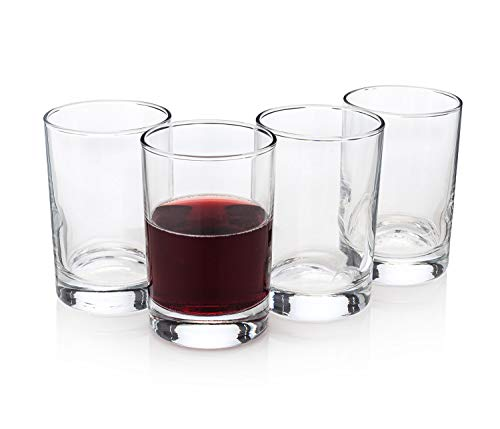 """Bàcaro di Veneto"" Italian Stemless Wine Glasses (Set of 4)"