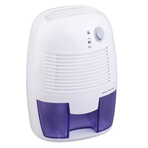 Halorose Mini Air Room Dehumidifier,Portable Quiet Electric Safe Home Drying Moisture Absorber for Bedroom, Home, Crawl Space, Bathroom, RV, Baby Room