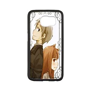 Samsung Galaxy S6 phone Case Spice and Wolf Horo Lawrence Protective Cell Phone Cases Cover DFG122897