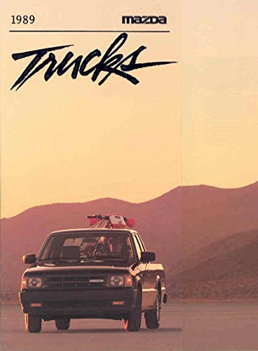 1989 Mazda Pickup Truck B2200 Sales Brochure for sale  Delivered anywhere in USA