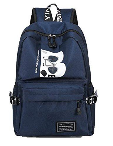 Dos Odomolor de Soie Bleu Daypack Matériel Sacs de à Daypacks Femme Randonnée Foncé ROFBL181092 qzqCH