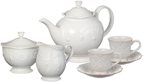 Lenox French Perle Tea Set, 7-piece, ()