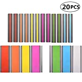 20 PCS Reading Guide Highlight Strips, Colored Overlays Bookmark Read Strips, Children's Reading Aid Bookmark for Children Teacher Dyslexia People
